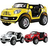 ViVo© Licensed 2016 BMW Mini Beachcomber 12V electric Ride On Car with Parental Remote Control