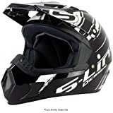 Cross S813N Noir Blanc XS - CRO1G1201 - Casque moto Cross S Line S813