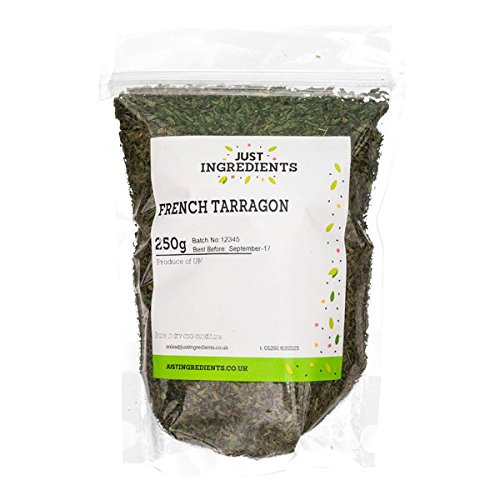 JustIngredients Französischer Estragon, French Tarragon, 1er Pack (1 x 250 g)