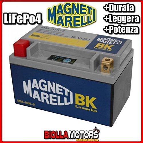 Preisvergleich Produktbild mm-ion-9 Lithium Ion MAGNETI MARELLI ytx12-bs LiFePO4 YTX12BS Moto Scooter QUAD CROSS