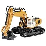 2,4G 9 Kanal RC ferngesteuerter bagger Baufahrzeug kinder Modell 360 Grad Steuerungsplattform eistungsstarke Schaufel und Lichtkabine Spielzeug für Kinder