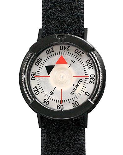 Suunto Kompass M-9/NH mit VELCRO STRAP schwarz, one size