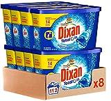 Dixan Duo Caps, Detergente en Cápsulas 14 Dosis - Paquete de 8, Total: 112 Lavados