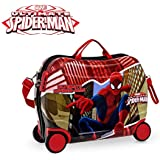 4419951 Maleta de viaje para niños, diseño de Ultimate Spiderman cavalcabile 50 x 38 x 20 cm. MWS