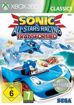Preisvergleich Produktbild Sonic All-Stars Racing Transformed X-Box 360