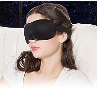 De feuilles 3D Stereoskopische Schlaf-Augenmaske mit Ohrenstöpseln Lightweight Contoured Blackout-Schutzbrillen... preisvergleich bei billige-tabletten.eu