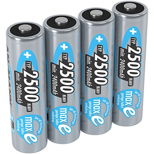 BATTERY, AA 2500MAH PRECHARGED 4PK--- Battery Capacity : 2500mAh--- Battery IEC Code : HR06--- Battery NEDA Code : ---- Battery Size Code : AA--- Battery Technology : Nickel Metal Hydride--- Battery Terminals : Raised Positive and Flat Negative--- Ba...
