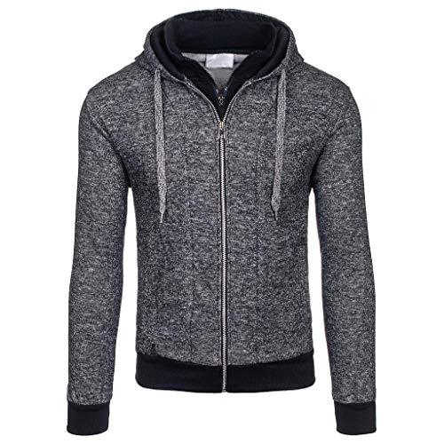 Breasted Abendessen (Setsail Mode für Herren Herbst Winter Casual Pocket Button Thermo Lederjacke Top Coat)