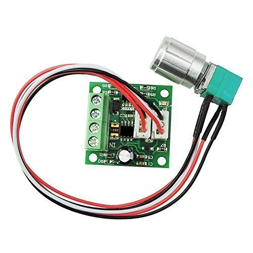 Unique Goods - 1803BKW 1.8v 3v 5v 6v 7.2v 12v 2A 30W DC Motor Speed Controller (PWM) Adjustable Driver Switch by uniquegoods - Motor Speed Controller