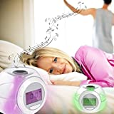 Reloj despertador -Sonidos NATURE--Transparente-Unica