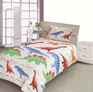 Children S Kids Double Bed Size Dinosaur Design Boys Duvet