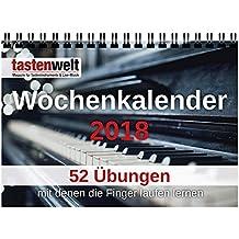 Tastenwelt Wochenkalender 2018