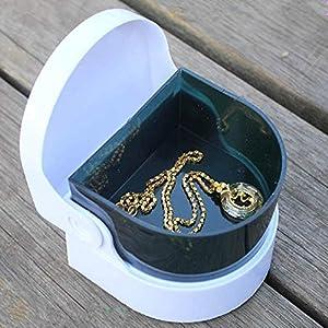 hwintu Multifunktions-Mini Ultraschall Reinigung Maschine Schmuck Reiniger Gold und Silber Schmuck False Teeth Vibration Reinigung Maschine