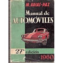 Manual de Automóviles. 1960