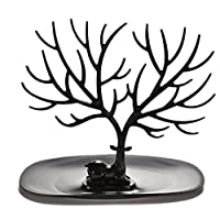 Naisidier Jewellry Display Rack Retro Bird Tree Deer Stand Jewelry Show Rack Creative Earrings Necklace Ring Stand Holder Garden Home Kitchen
