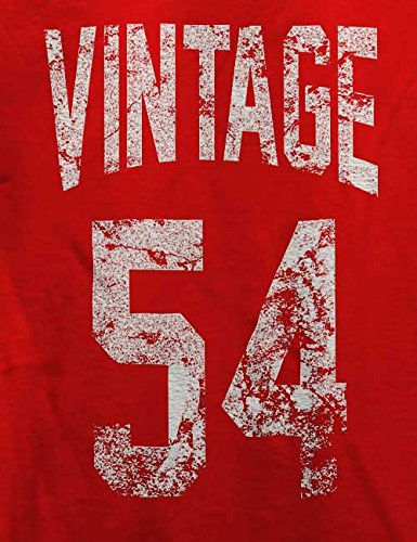 Vintage 1954 T-Shirt Rot