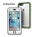 Catalyst Estuche Impermeable para Apple iPhone 6 Plus (Pop Green) con Touch ID Muy Sensible