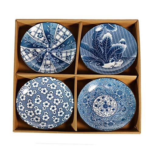 4 ASSIETTES DESIGN JAPONAIS - Traditionnel et original