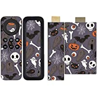 'Disagu SF/SDI 5258 _ 1209 Protective Skins Case Cover For Amazon Fire TV Stick Remote Control/Halloween Pattern 01 Clear preiswert