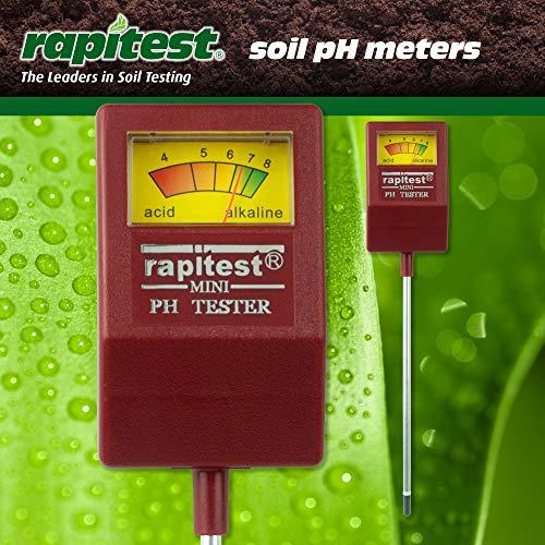 Rapitest Ph-meter (Luster Leaf 1815Rapitest Mini Boden PH Tester)