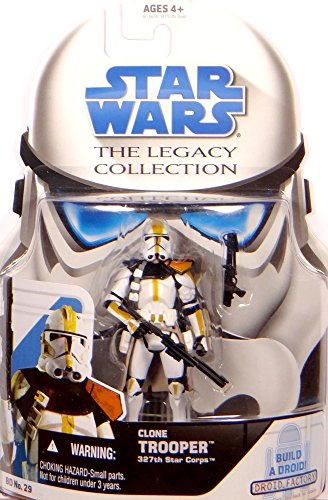 Clone Trooper 327th Star Corps BD29 - Star Wars The Legacy Collection 2009 von Hasbro (327th Star)