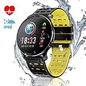 CanMixs Pulsera de Actividad Smartwatch, CM10 Pulsera Inteligente Impermeable