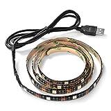 XCSOURCE® 1m RGB TV Hintergrundbeleuchtung LED Streifen USB Heimkino Farben ändernde helle Einstellbare USB Powered Eingebauter Controller LD953