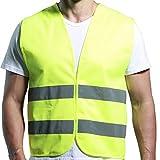 Warnweste Sicherheitsweste Gelb Hohe Sichtbarkeit Leuchtstoff ANSI / ISEA Standard (S)