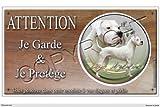 Pets-Easy.com Panneau chien ou plaque Dogue-Argentin 20 cm...