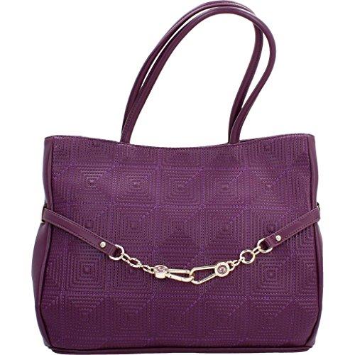 Sacs - Maroquinerie, couleur Violet , marque VERSACE JEANS, modÚle Sacs - Maroquinerie VERSACE JEANS E1VOBBH5 75351 Violet Violet
