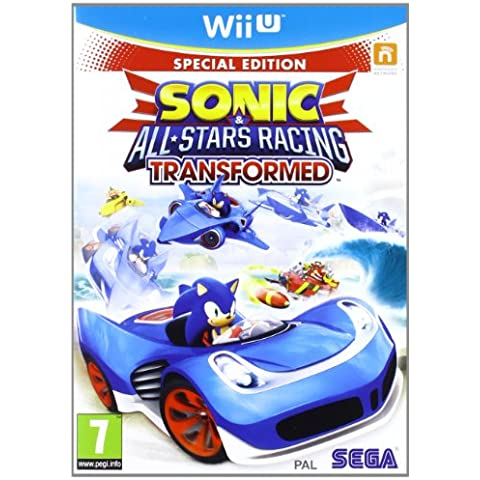 Sonic All Stars Racing Trasformed (Wii U)