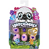 Hatchimals - 6041338 - Collegtibles Pack de 4 + Bonus - Saison 2 (Assortiment)