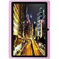 """Coloré(TM) 7"""" Pouces Android 4.4 KitKat Google Tablet PC Quad Core 8GB Allwinner 1.5 GHz Cortex A7 Double Caméra 5 Points HD Capacitif écran Tactile 512M WiFi (Rose)"""