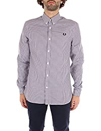 8ade79593 Fred Perry M3550 Knitted Collar Oxford Shirt Snow White Size M · £50.00  Prime. Fred Perry M2500 Man