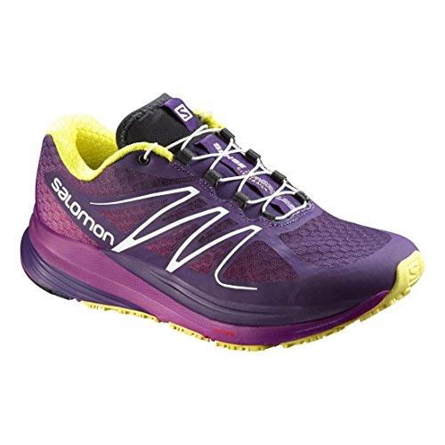 Salomon Sentido Propulsé Sapatos Trail Running Das Mulheres - Aw16 Multicolour