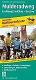 Mulderadweg, Freiberg/Zwickau - Dessau: Leporello Radtourenkarte mit Ausflugszielen, Einkehr- & Freizeittipps, wetterfest, reissfest, abwischbar, GPS-genau. 1:50000 (Leporello Radtourenkarte / LEP-RK)