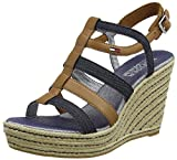 Tommy Hilfiger Women's L1385una 4c Wedge Heels Sandals