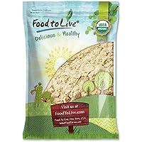 Food to Live Polvo de raíz de jengibre Bio certificado (Eco, Ecológico, sin OMG, raíz de jengibre molida cruda, harina) 3.6 Kg