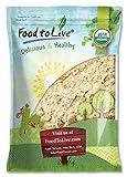 Food to Live radice polvere certificata zenzero organico (GMO. terra ginger root sano. farina) 3.6 Kg