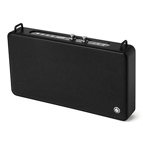 GGMM E5 Altoparlante Bluetooth Portatile 20W, Batteria Incorporata, Riproduzione di 15 Ore, Controllo di Alto e Basso, Porta di Ricarica USB per iPhone, iPad, Dispositivi Android, Chiamate in Vivavoce