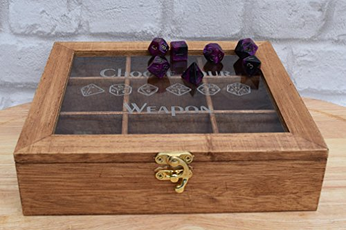 large-dice-orgainiser-pathfinder-dungeons-and-dragons-dice-box-geek-gift-dnd-present-man-gift-rpg-di