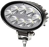 HELLA 1GA 357 001-001 Arbeitsscheinwerfer HELLA VALUEFIT für Nahfeldausleuchtung, Anbau, oval, LED, 12V/24V