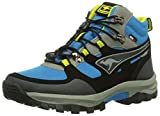 Kangaroos Sentry Mid Kids - Botas de montaña, color Blue/Acid Yellow 476, talla 36 EU (3.5 Kinder UK)