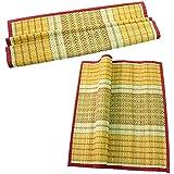 Odisha Ayurved Hub Hand Made Kusha Grass Aasan Mat, Set of 2 Pieces