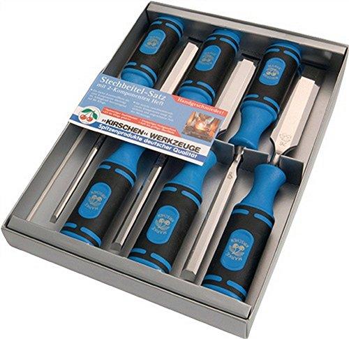 Preisvergleich Produktbild Stechbeitelsatz B.6 10 12 16 20 26 mm mit 2 K Heft SB Karton Kirschen