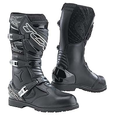 7153G - TCX X-Desert Gore-Tex Motorcycle Boots 44 Black (UK 9.5)