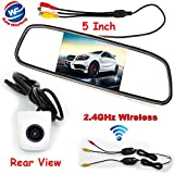Auto Wayfeng WF® 3 in 1 HD CCD Wireless Backup Reversing Kamera + 5