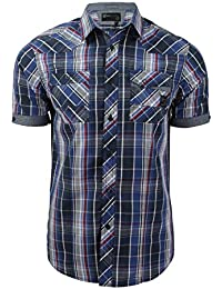 Dissident 'Valencia' - Chemise Homme Manches courtes Check