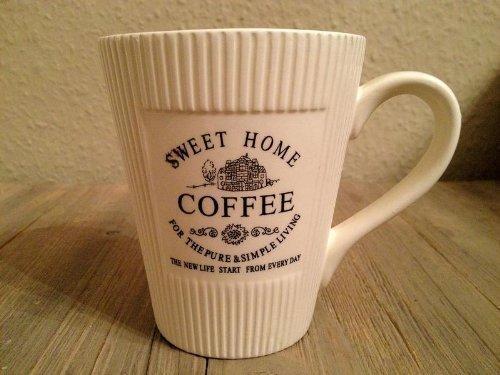 DRULINE 300ml Vintage Landhaus Kaffeebecher Tasse Mug Kaffeetasse Becher Shabby Chic