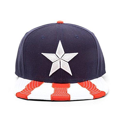 Captain America - Civil War Snapback Cap / (Captain Hüte America)
